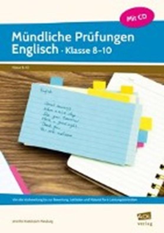 Mündliche Prüfungen Englisch - Klasse 8-10