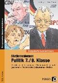 Lauenburg, F: Stationenlernen Politik 7./8. Klasse   Lauenburg, Frank ; Strukamp, Sabrina ; Weller, Martin  