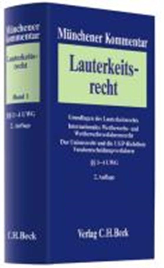 Münchener Kommentar / Lauterkeitsrecht 01