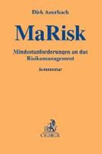 MaRisk - Mindestanforderungen an das Risikomanagement   Dirk Auerbach  