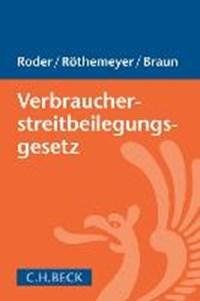 Verbraucherstreitbeilegungsgesetz | Matthias Roder |