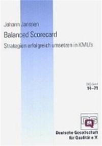 Balanced Scorecard | J. Janssen |