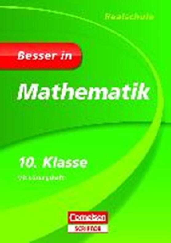 Kreusch, J: Besser in Mathematik - Realschule 10. Klasse