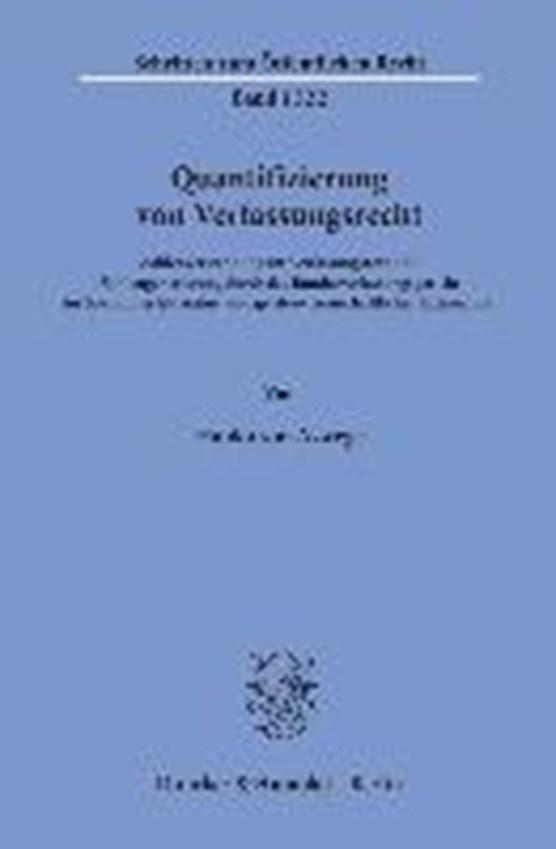 Quantifizierung von Verfassungsrecht