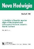 A checklist of benthic marine algae of the tropical and subtropical Western Atlantic. fourth revision   Michael J. Wynne  