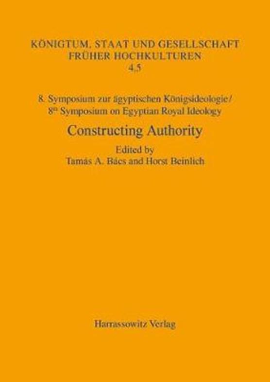 8. Symposium zur ägyptischen Königsideologie/8th Symposium o