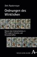 Ordnungen des Wirklichen | Dirk Rustemeyer |