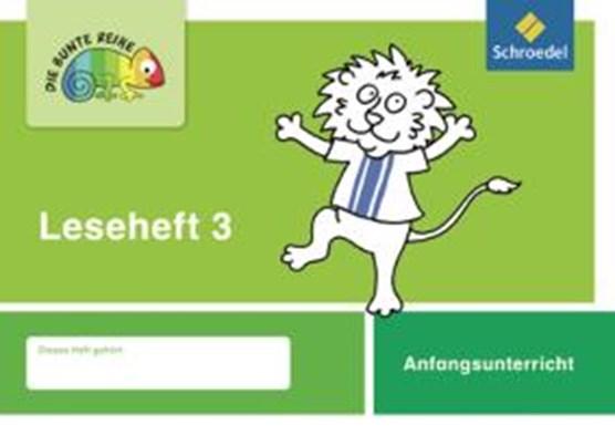 Die bunte Reihe 3 Deutsch Leseheft