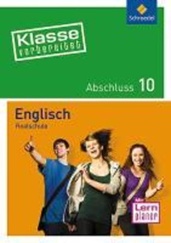 Klasse vorbereitet Englisch. Abschluss 10. Realschule