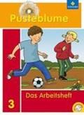 Pusteblume. Das Sprachbuch 3. Arbeitsheft mit CD-ROM. Bremen, Hamburg, Niedersachsen, Nordrhein-Westfalen, Schleswig-Holstein   auteur onbekend  