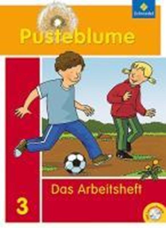 Pusteblume. Das Sprachbuch 3. Arbeitsheft mit CD-ROM. Bremen, Hamburg, Niedersachsen, Nordrhein-Westfalen, Schleswig-Holstein