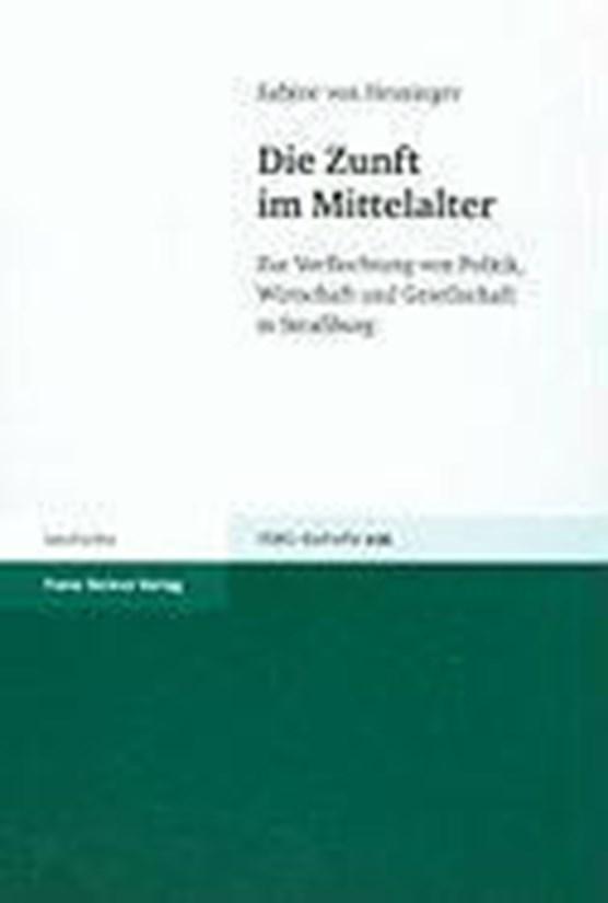 von Heusinger, S: Zunft im Mittelalter
