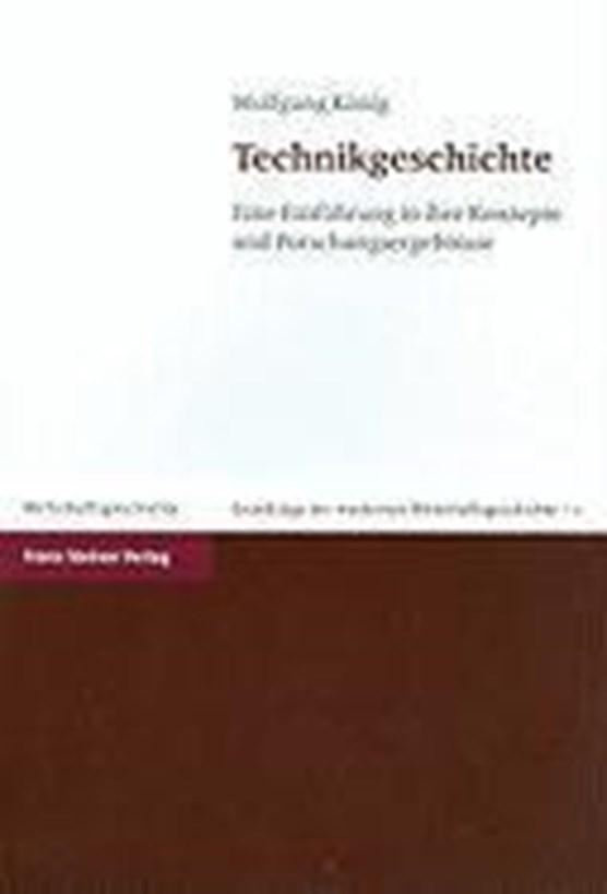 König, W: Technikgeschichte