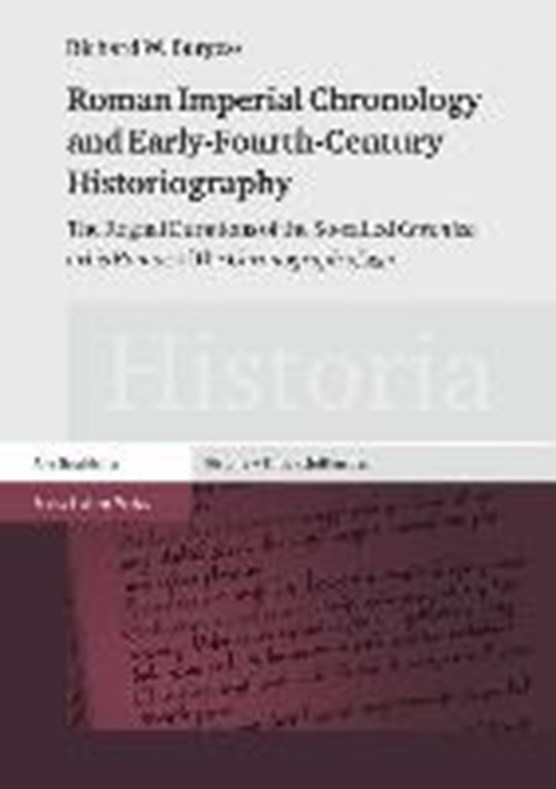 Burgess, R: Roman Imperial Chronology and Early-Fourth-Cent.