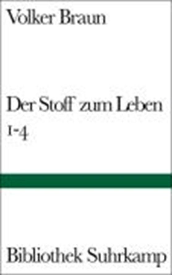 Braun, V: Stoff zum Leben 1-4