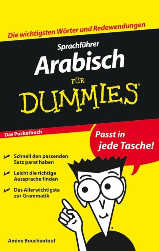 Bouchentouf, A: Sprachführer Arabisch für Dummies Das Pocket