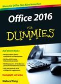 Office 2016 fur Dummies   Wallace Wang  