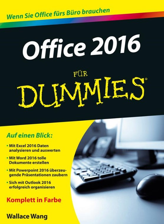 Office 2016 fur Dummies