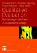 Qualitative Evaluation | Kuckartz, Dr Udo ; Dresing, Thorsten ; Radiker, Stefan ; Stefer, Claus |