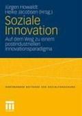 Soziale Innovation   Jurgen Howaldt ; Heike Jacobsen  