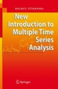 New Introduction to Multiple Time Series Analysis | Helmut Lutkepohl |