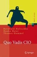 Quo Vadis Cio?   Bernhard Holtschke ; Hauke Heier ; Thomas Hummel  