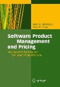 Software Product Management and Pricing | Kittlaus, Hans-Bernd ; Clough, Peter N. |