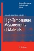 High-Temperature Measurements of Materials | Hiroyuki Fukuyama ; Yoshio Waseda |
