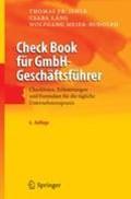 Check Book Fur Gmbh-Geschaftsfuhrer | Thomas F Jehle ; Csaba Lang ; Wolfgang Meier-Rudolph |