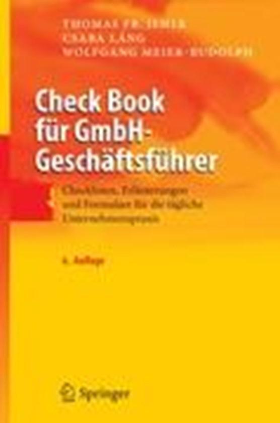 Check Book Fur Gmbh-Geschaftsfuhrer