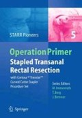 Stapled Transanal Rectal Resection | auteur onbekend |