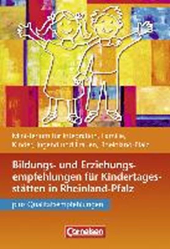 Bildungs-/Erziehungsempfehlungen Kitas Rheinl.-Pfalz