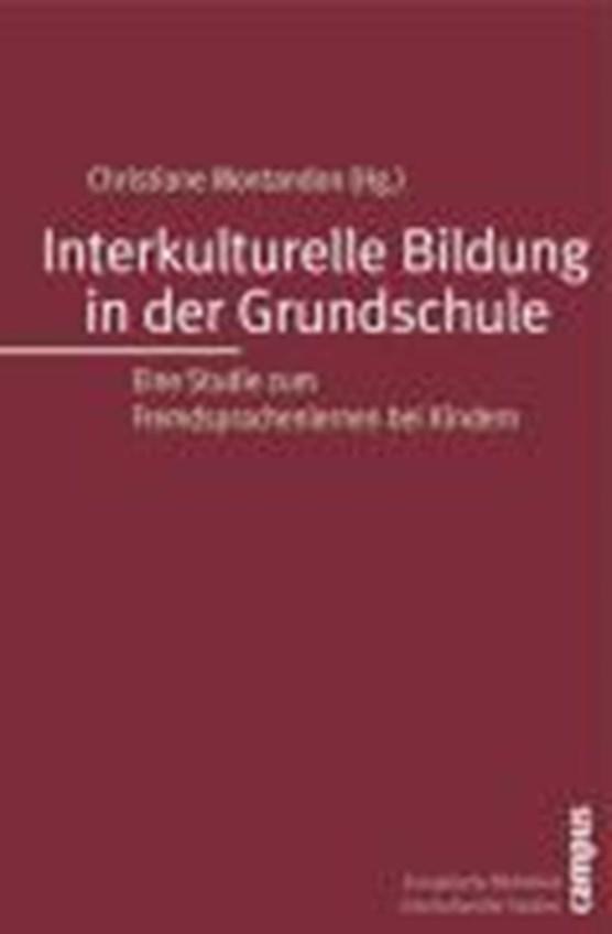 Interkulturelle Bildung in der Grundschule