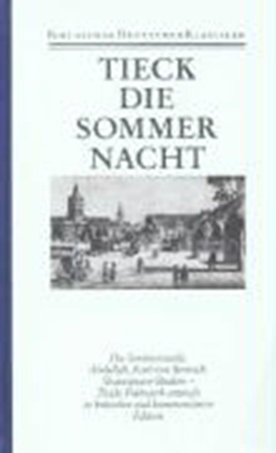 Tieck, L: Schriften 1