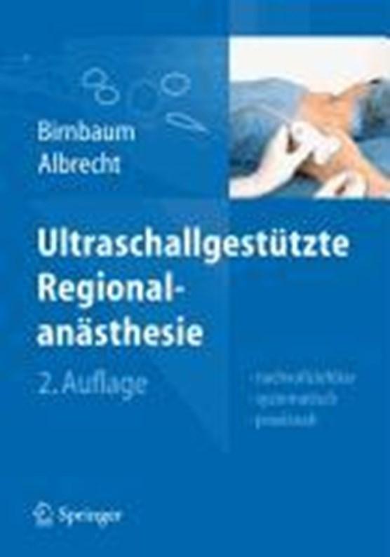 Ultraschallgestutzte Regionalanasthesie