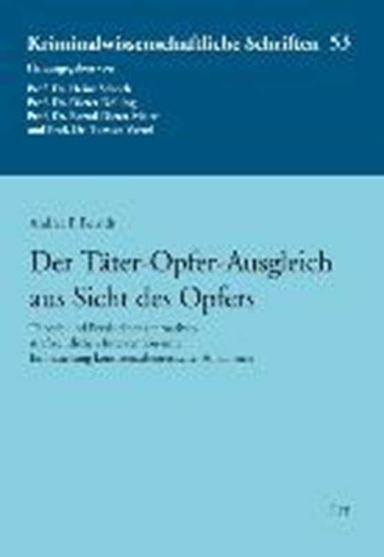 Berndt, A: Täter-Opfer-Ausgleich aus Sicht des Opfers