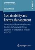 Sustainability and Energy Management | Gregor Weber |