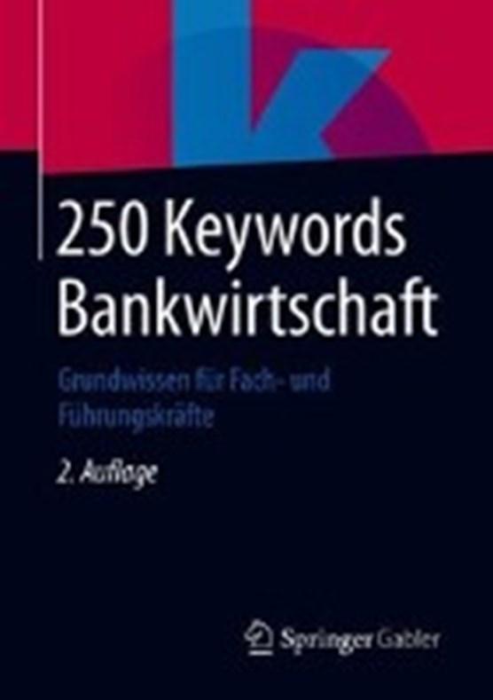 250 Keywords Bankwirtschaft