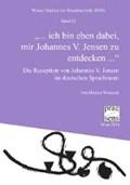 """Wenusch, M: """"dabei, mir Johannes V. Jensen zu entdecken   Monica Wenusch  """