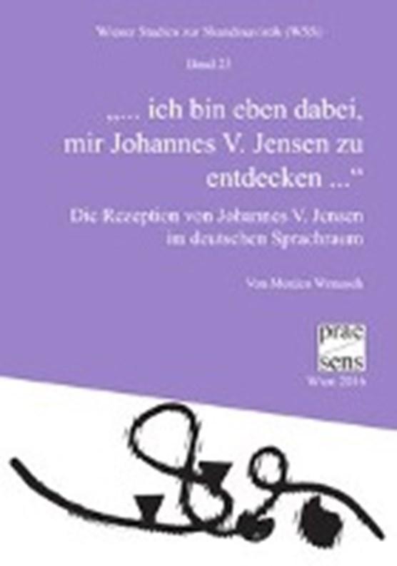"""Wenusch, M: """"dabei, mir Johannes V. Jensen zu entdecken"""