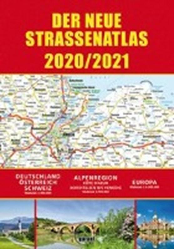 Straßenatlas 2020/2021 für Deutschland und Europa