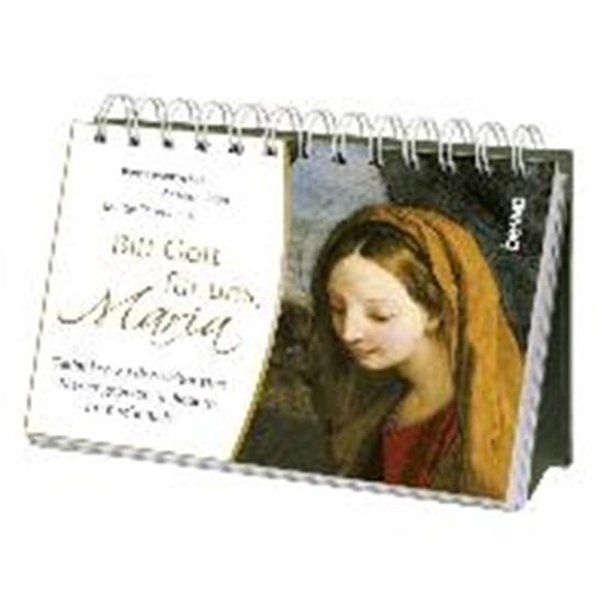 Aufsteller »Bitt Gott für uns, Maria«