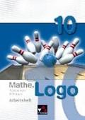 Mathe.Logo 10 Regelschule Thüringen Arbeitsheft   Enghardt, Ingolf ; Kleine, Michael ; Prill, Thomas ; Skorsetz, Birgit  