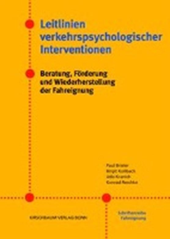 Leitlinien verkehrspsychologischer Interventionen