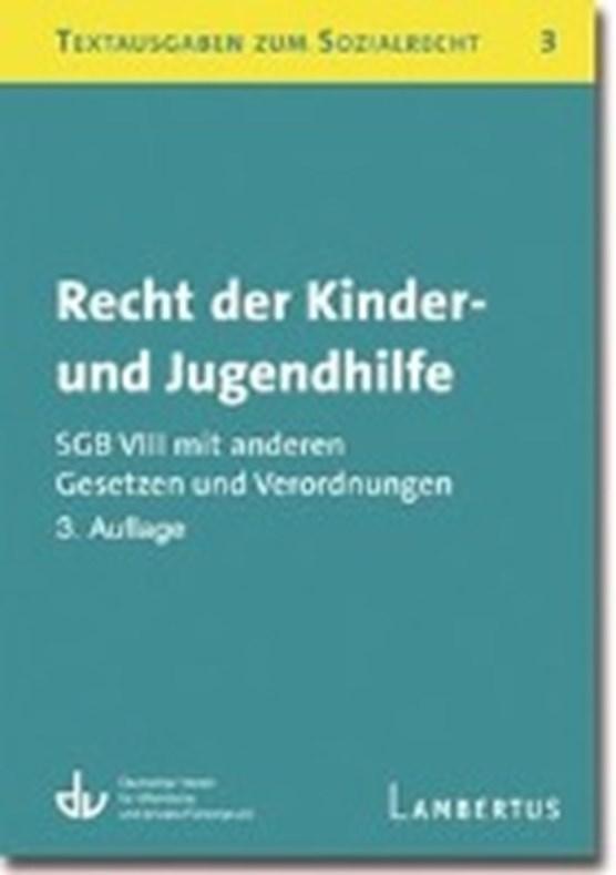 Recht der Kinder- und Jugendhilfe - SGB VIII