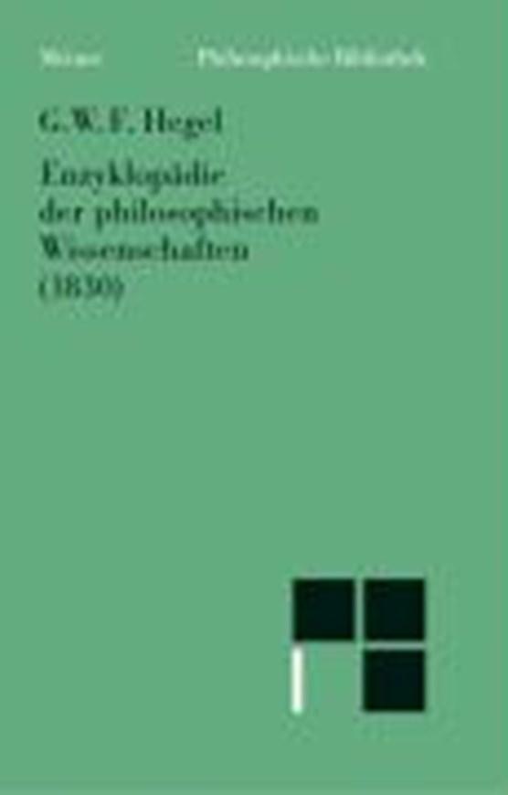 Enzyklopädie der philosophischen Wissenschaften im Grundriss (1830)