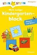 Lernstern: Mein lustiger Kindergartenblock. Rätseln und Malen ab 3 Jahren   auteur onbekend  