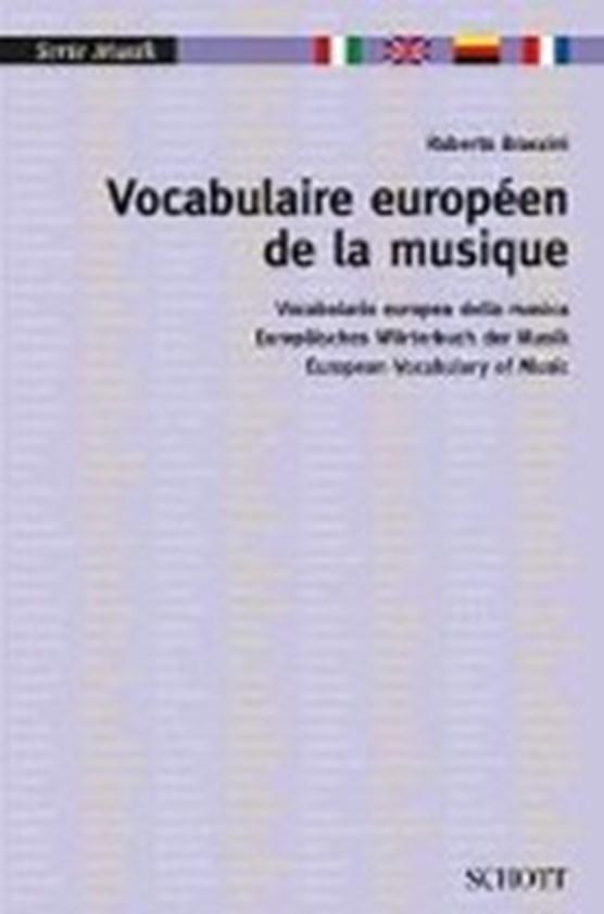 Vocabulaire européen de la musique