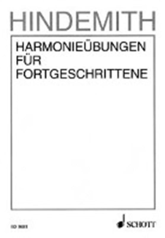 Hindemith, P: Harmonieübungen f. Fortgeschrittene 2