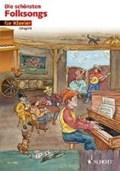 Die schönsten Folksongs   auteur onbekend  